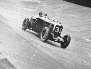 Bentley Speed Six Davis/Dunfee Brooklands 500 miles 1929 2nd place. Photo